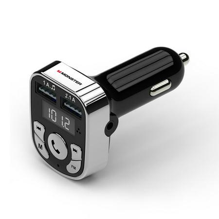 monster bluetooth fm transmitter car charger. Black Bedroom Furniture Sets. Home Design Ideas