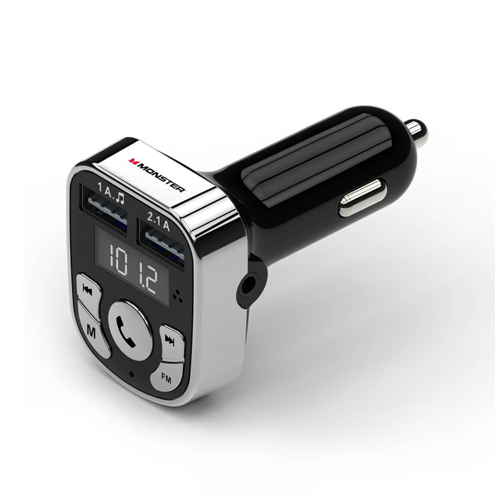 Monster Bluetooth FM Transmitter Car Charger