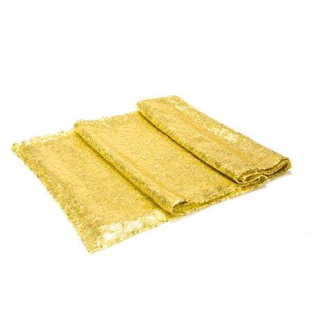 Sparkly Sequin Table Runner Decoration - (12