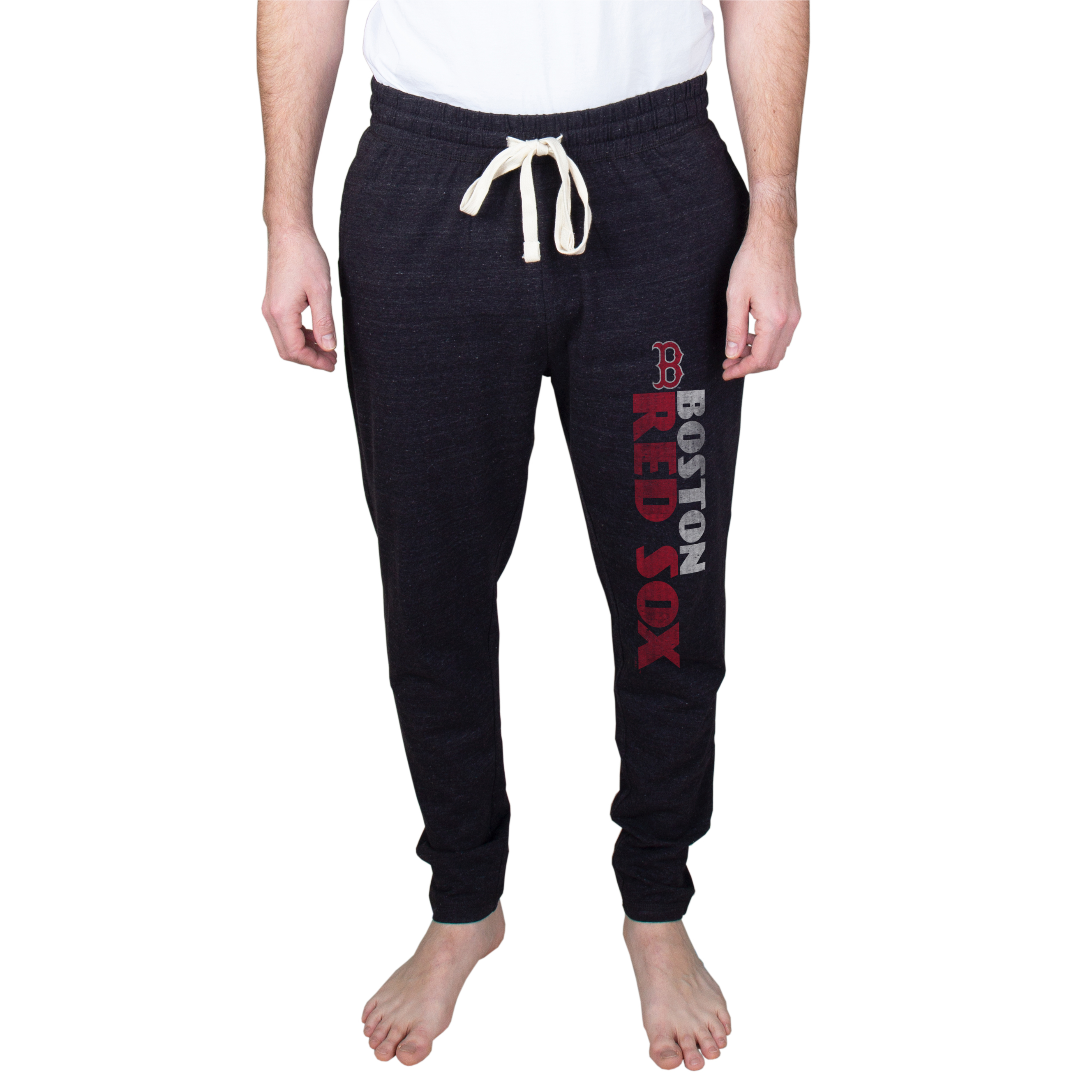 Boston Red Sox Pendulum Tapered Jersey Pants - Charcoal