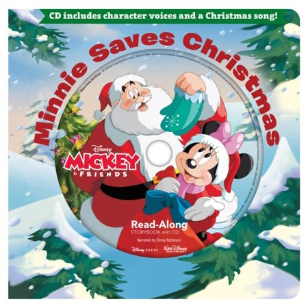 Minnie Saves Christmas Read-Along Storybook & CD