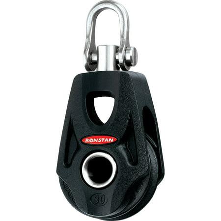 Ronstan Series 30 Ball Bearing Orbit Block - Single - Becket - Swivel Shackle Head Power Head Bearing