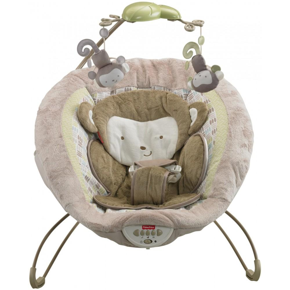 Fisher-Price My Little Snugamonkey Deluxe Bouncer
