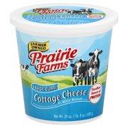 Prairie Farms Large Curd Cottage Cheese, 24 Oz.