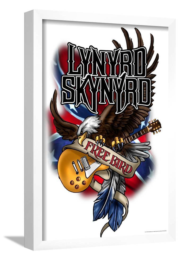 Lynard Skynard Vinyl Decal Sticker Car Truck Classic Rock Southern Country Boy