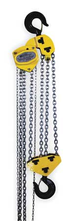 OZ LIFTING PRODUCTS OZ100-20CHOP Manual Chain Hoist,20000 lb.,Lift 20 ft. by OZ Lifting Products