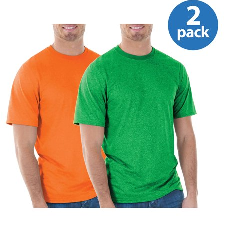 Mens Classic Short Sleeve T-Shirt, 2 Pack For $6 ()