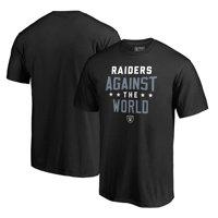 Las Vegas Raiders NFL Pro Line by Fanatics Branded Against The World T-Shirt - Black