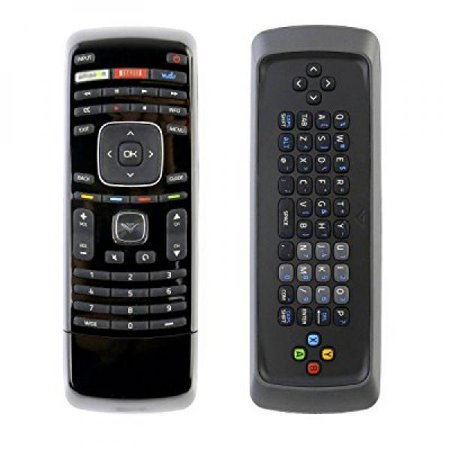 econtrolly New Replaced Dual Sided Keyboard Qwerty Remote XRV1TV XRT300 with Keyboard and Apps Buttons for Vizio Smart TV (Dual Button)