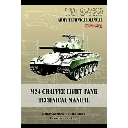 M24 Chaffee Light Tank Technical Manual : TM 9-729