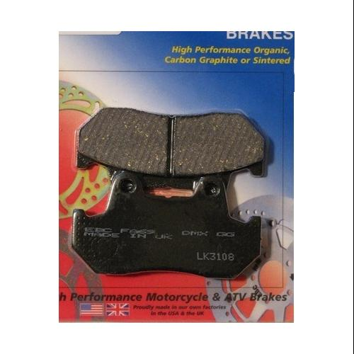 EBC Organic Brake Pads Front (2 sets required) or Rear Fits 1983 Honda GL1100 Gold Wing
