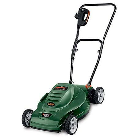 Black Decker 18 Electric Mulching Lawn Mower