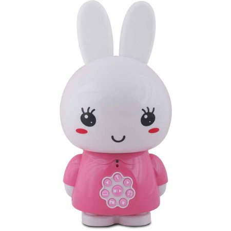 Image of Alilo Honey Bunny with Music and Story Playing Capabilities 4 GB Micro SD Card, Pink