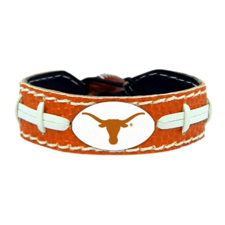 Texas Longhorns Bracelet - Team Color Football ()