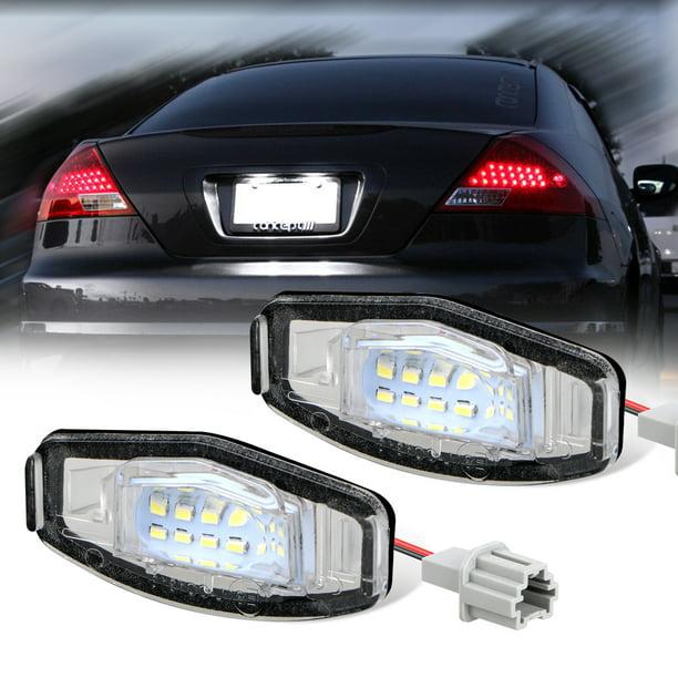 TSV 2Pcs LED License Plate Light Lamp Assembly For Honda