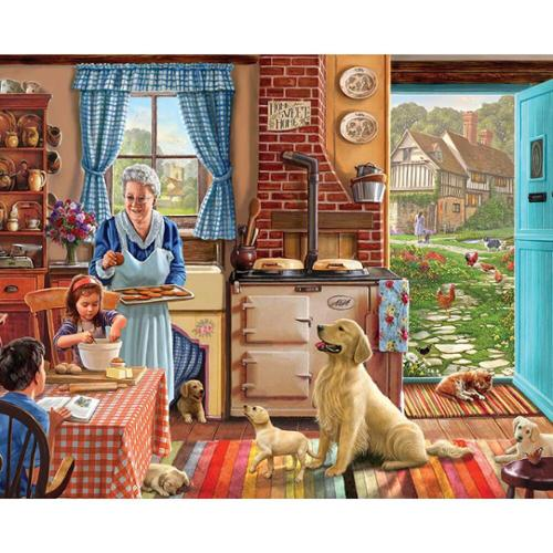 White Mountain Home Sweet Home Jigsaw Puzzle
