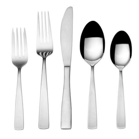 International Stainless Flatware - International Silver Maison Satin 67 Piece Stainless Flatware Set