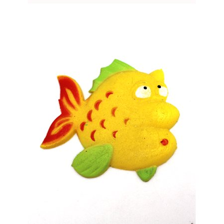 Yellow Fish Growing Water Toy by Ganz