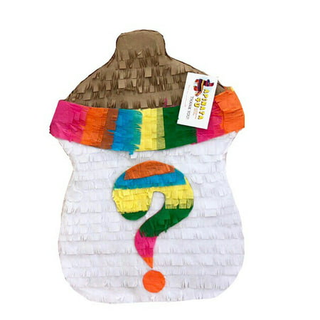 Gender Reveal Pinata Baby Bottle Shape Fiesta - Baby Pinatas