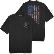 Big & Tall NewportXL Short Sleeve T-Shirt LARGE FLAG Print