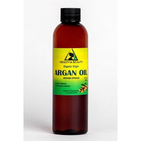 ARGAN OIL UNREFINED ORGANIC EXTRA VIRGIN MOROCCAN COLD PRESSED RAW PURE 4