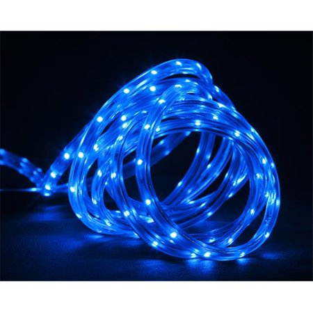 northlight 30 ft blue led indoor outdoor christmas linear tape lightin. Black Bedroom Furniture Sets. Home Design Ideas