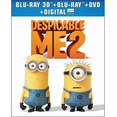 Despicable Me 2 (3D Blu-ray + Blu-ray + DVD + Digital HD) (With INSTAWATCH) (Widescreen)