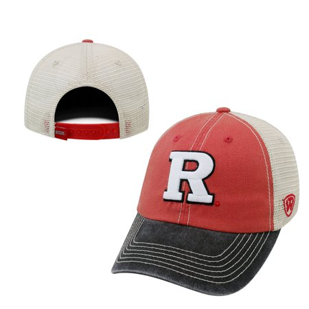 the best attitude 03b7c 3840b Rutgers Scarlet Knights Official NCAA Adjustable Offroad Hat Cap by Top of  the World 172279 - Walmart.com