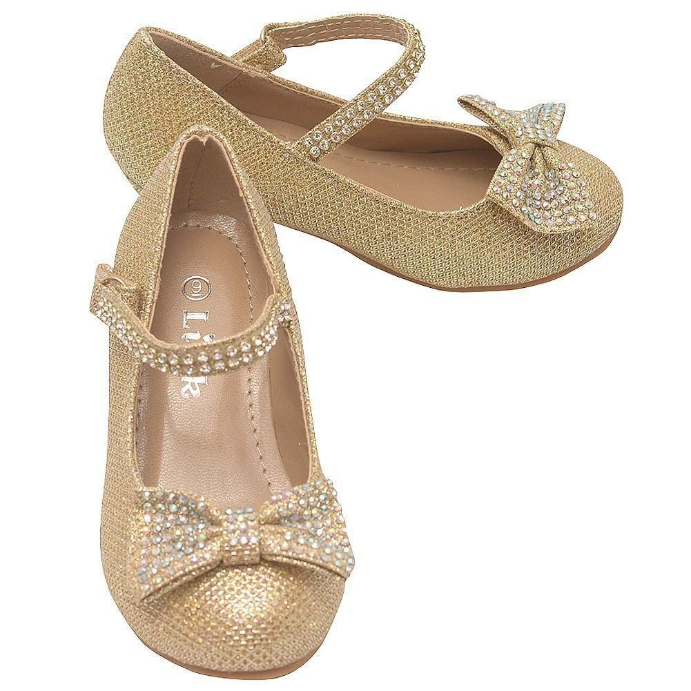 Link - Little Girls Gold Sparkle