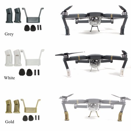 Landing Gear heightenedlandinggear Heightened Extender Riser Set Stabilizers Legs Holder with Protection Pad For DJI Mavic Pro Quadcopter - Prop Legs
