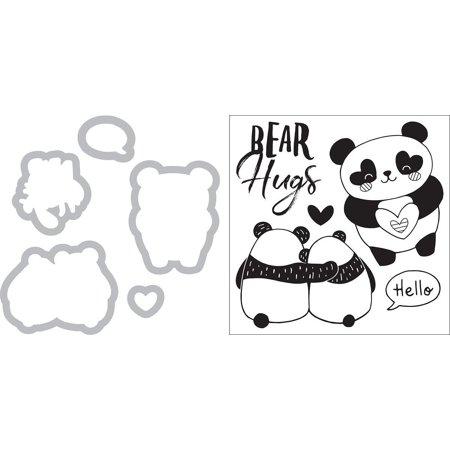 Sizzix Klizardi Framelits Die/Stamp Bear Hugs - image 4 de 4