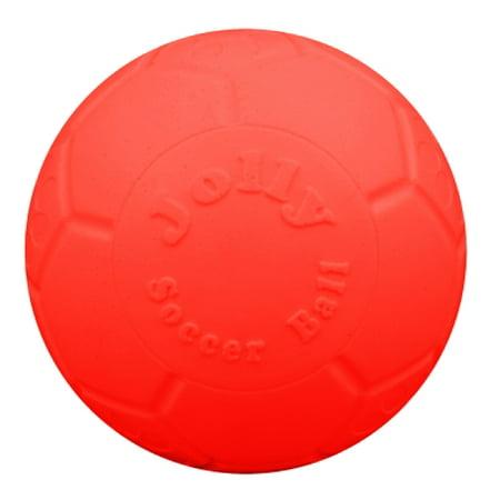 "Jolly Pets 6"" Jolly Soccer Ball - boxed pkg, Orange"