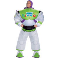 Men's Buzz Lightyear Inflatable Costume - Toy Story 4