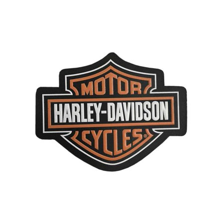 Genuine Patched Leather (Harley-Davidson Genuine Bar & Shield Logo Leather Emblem Patch, 4 x 3 inches, Harley Davidson)