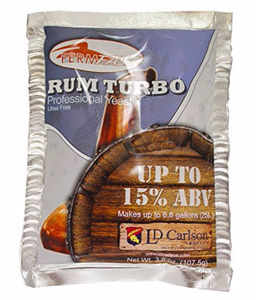 FermFast Rum Turbo Yeast 107.5 g Packet by Home Brew Ohio