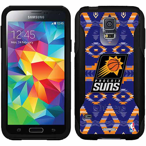 Phoenix Suns Tribal Print Design on OtterBox Commuter Series Case for Samsung Galaxy S5
