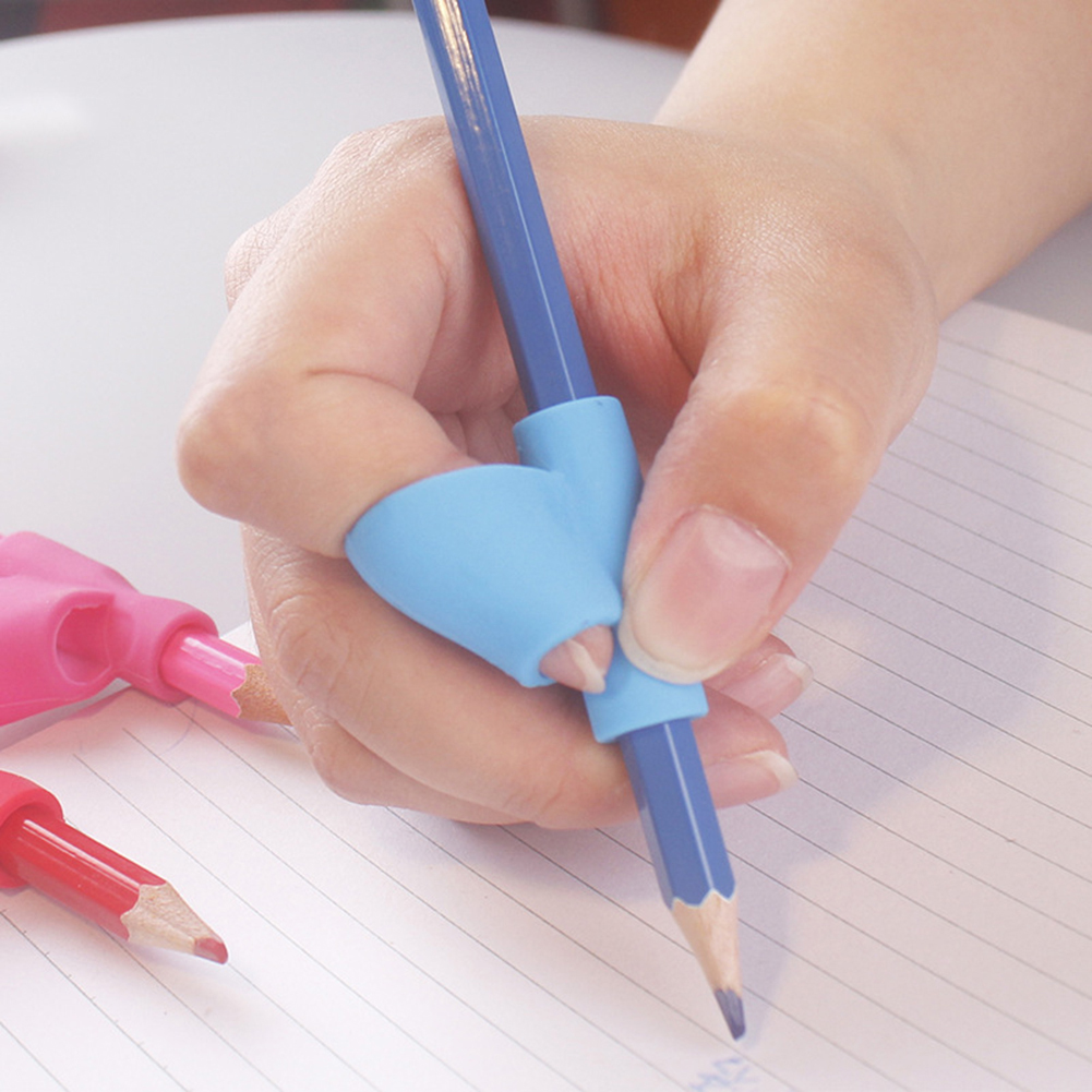 Directer 5Pcs Kids Student Pencil Hold Pen Writing Aid Grip Posture Correction Tool