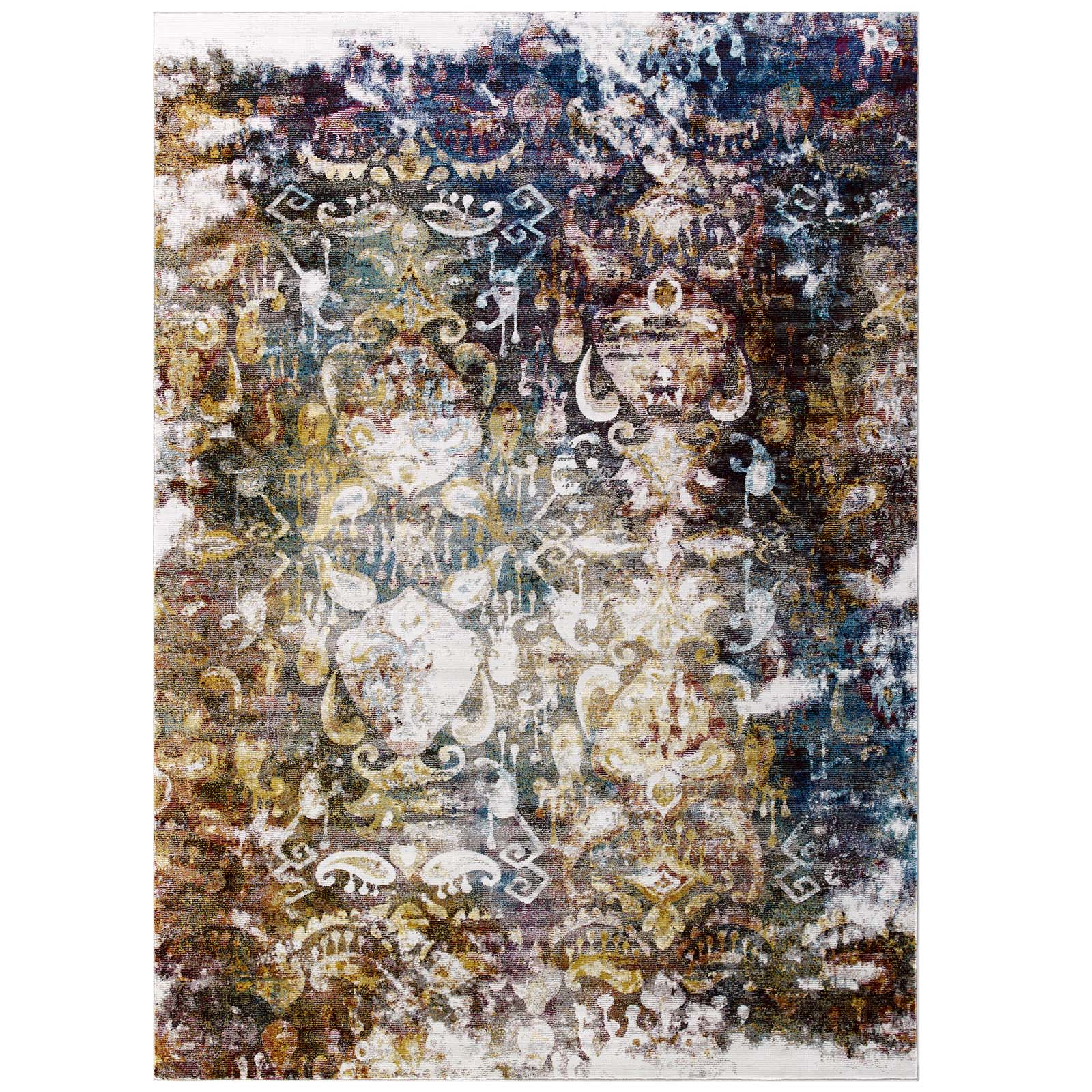 terrific colorful living room rug | Modern Contemporary Urban Living Lounge Room Area Rug ...