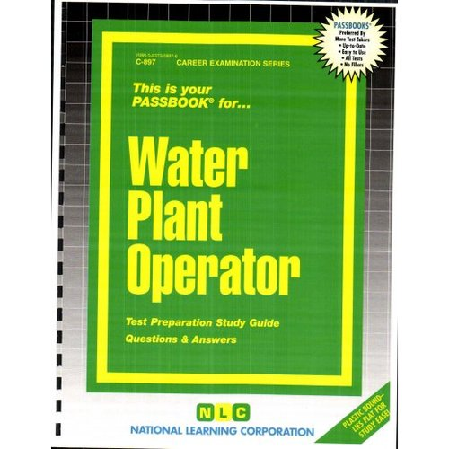 how to become a water plant operator