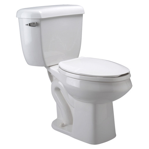 Zurn Pressure Assist 1.0 GPF Elongated Two-Piece Toilet