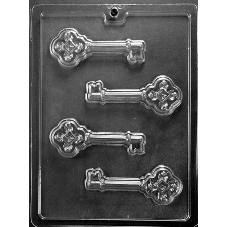 Grandmama S Goos M222 Skeleton Key Chocolate Candy Soap Mold With Exclusive Molding Instructions