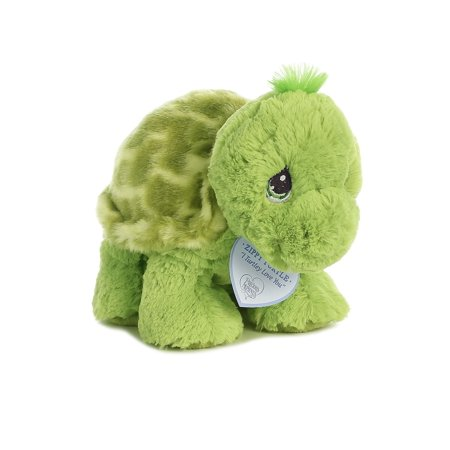 Zippy Turtle 8 inch - Baby Stuffed Animal by Precious Moments (15706) Animal Babies Stay Safe