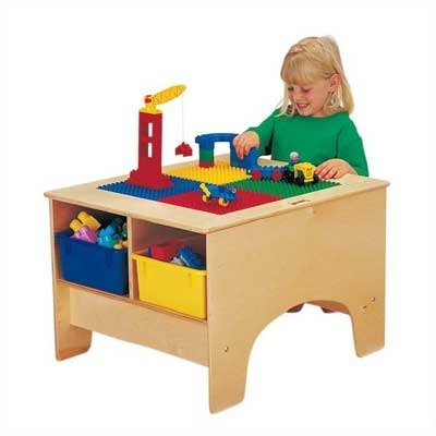 Kydz Building Table - Lego���� Compatible Without Tubs-Compatibility:Without Tubs