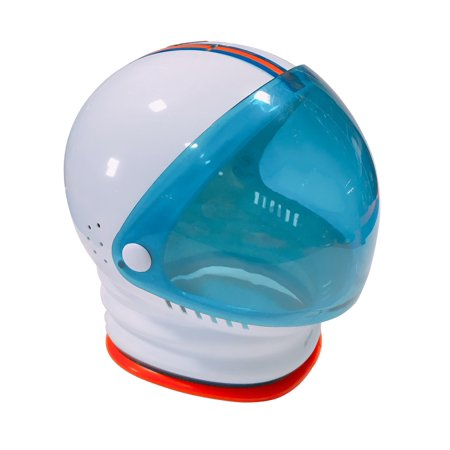 Deluxe Adult Child Toy Space Helmet Astronaut Costume Accessory, One Size - Astronaut Costume With Helmet
