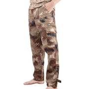 Men Digital Camo BDU Pant Desert Camo Cargo Pants With Pockets Outwear