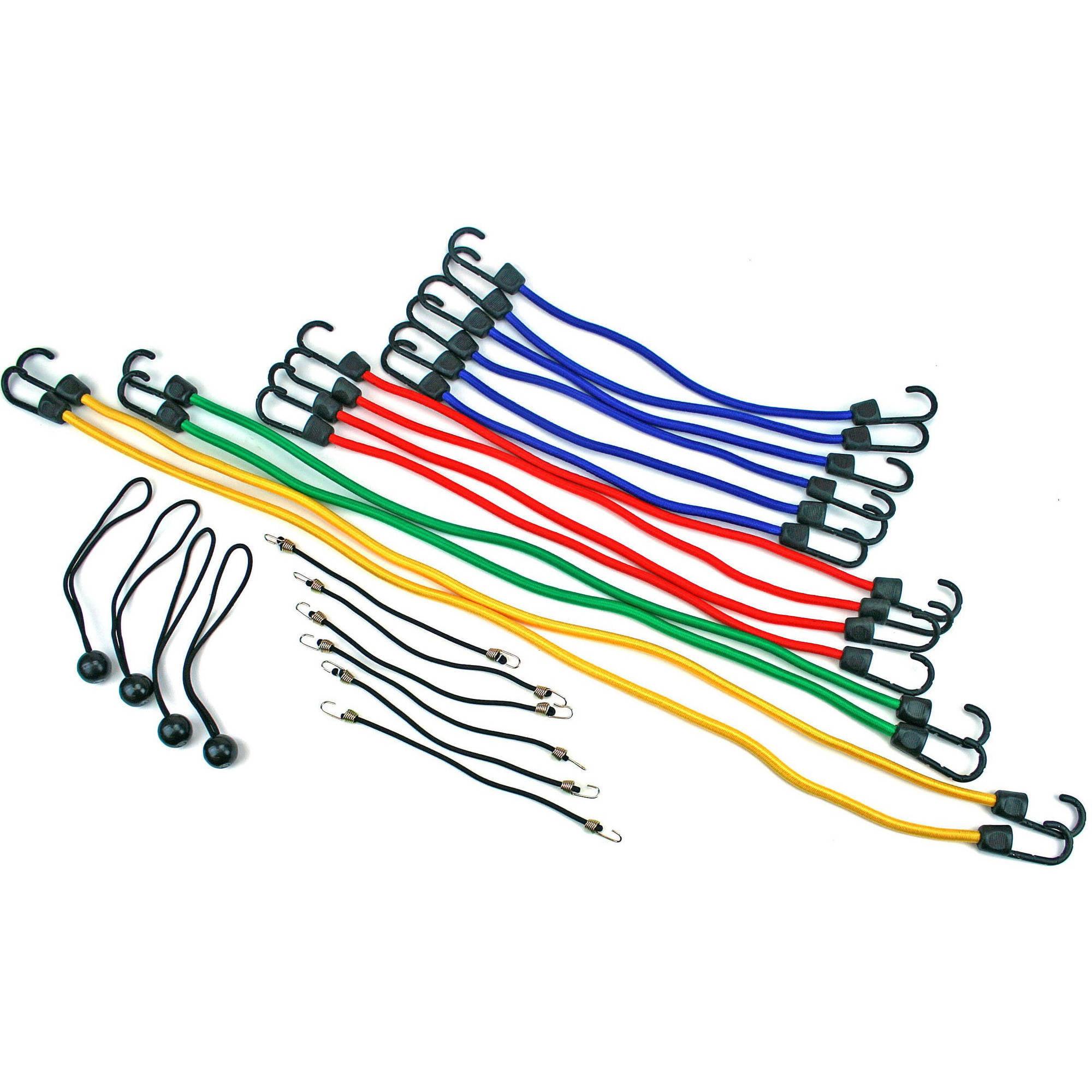 Highland 24-Piece Bungee Cord Assortment, Model # 9008400