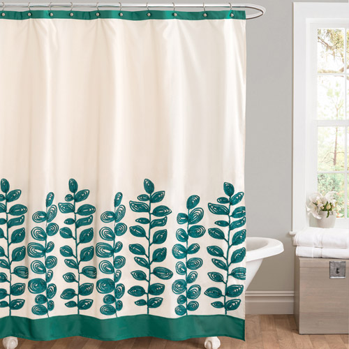 Vineyard Allure Green Shower Curtain