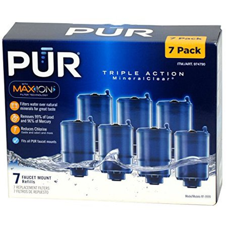 3  Stage Faucet Mount Filters 7 Pack  With Max  Ion Filter Technology