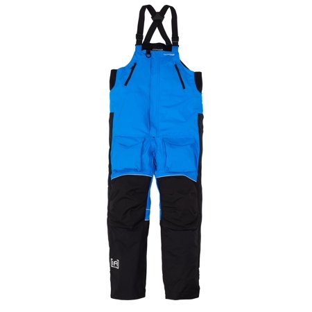 NEW Clam Outdoors IceArmor Edge Cold Weather Waterproof Shell Bib - Blue/Black