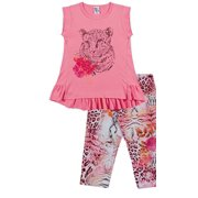 Pulla Bulla Shirt and Capri Pants Outfit for girls ages 2-10 years